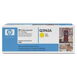 HP Toner Yellow Q3962A für Color LaserJet 2550 2820 2840, 4k