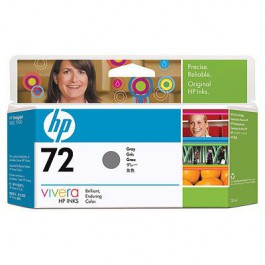 HP Tinte Nr. 72 C9374A Grey, 130 ml