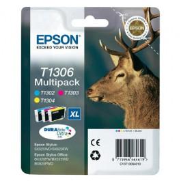 Epson Tinte Multipack T1306 CMY XL DURABrite, 10.1 ml