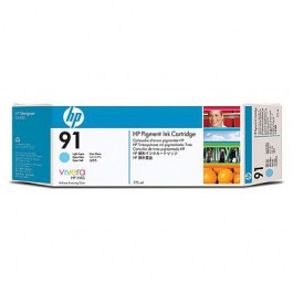 HP Tinte Nr. 91 C9470A Light Cyan, 775 ml