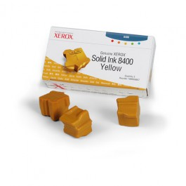 Xerox Solid Ink (3 Sticks) Yellow für Phaser 8400, 3.400 Seiten