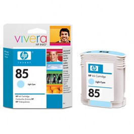 HP Tinte Nr. 85 C9428A Light Cyan, 69 ml