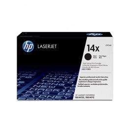 HP Toner CF214X 14X Schwarz für Laserjet 700 M712 M725, 17.500 Seiten