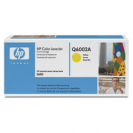 HP Toner Yellow Q6002A für Color LaserJet 1600 2600 2605 CM1015 CM1017, 2k