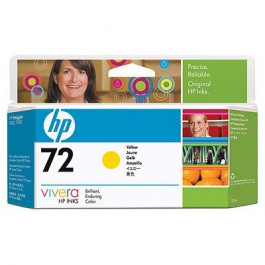 HP Tinte Nr. 72 C9373A Yellow, 130 ml