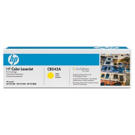 HP Toner Yellow CB542A für Color LaserJet CP1215 CP1515 CM1312, 1k4