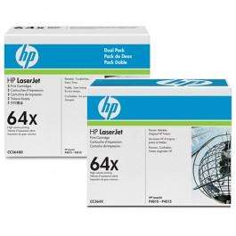 HP Toner CC364XD 2-Pack Schwarz für P4015 P4515 48k