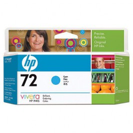 HP Tinte Nr. 72 C9371A Cyan, 130 ml