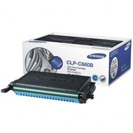 Samsung Toner Cyan für CLP-610 CLP-660 CLX-6200 CLX-6210 CLX-6240, 5.000 Seiten
