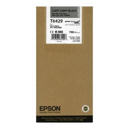 Epson Tinte T6369 Light Light Black UltraChrome HDR, 700 ml