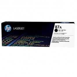 HP Toner 87A CF287A Schwarz