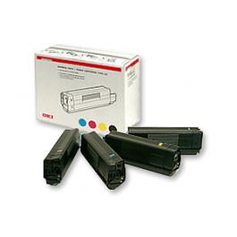 OKI Rainbow Kit für C5250 C5450 C5510 C5540, 4x 5.000 Seiten