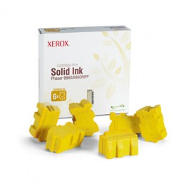 Xerox Solid Ink (6 Sticks) Yellow für Phaser 8860, 14.000 Seiten
