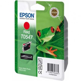 Epson Tinte T0547 Red, 13 ml