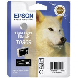 Epson Tinte T0969 Light Light Black, 11,4 ml
