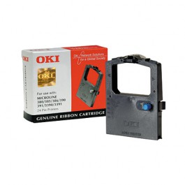 OKI Farbband schwarz für ML 380 391 3390 3391