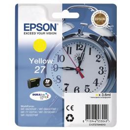 Epson Tinte 27 Gelb C13T27044010