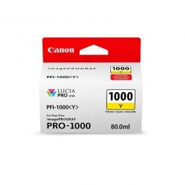 Canon Tinte PFI-1000Y Gelb