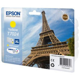 Epson Tinte T7024 Yellow XL, 21 ml