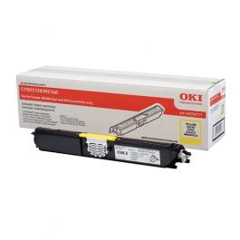 OKI Toner Yellow LC für C110 C130 MC160, 1k5