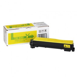 Kyocera Toner Kit TK-550Y Yellow für FS-C5200DN