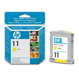 HP Tinte Nr. 11 C4838A Yellow, 28 ml