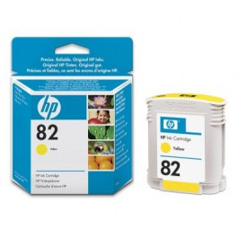 HP Tinte Nr. 82 C4913A Yellow, 69 ml
