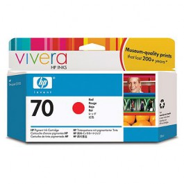 HP Tinte Nr. 70 C9456A Red, 130 ml