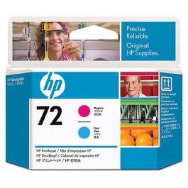 HP Druckkopf Nr. 72 C9383A Magenta + Cyan
