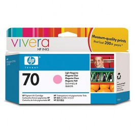 HP Tinte Nr. 70 C9455A Light Magenta, 130 ml
