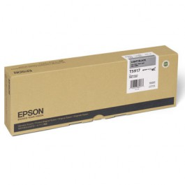 Epson Tinte T5917 Light Black, 700 ml
