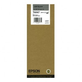 Epson Tinte T6067 Light Black, 220 ml