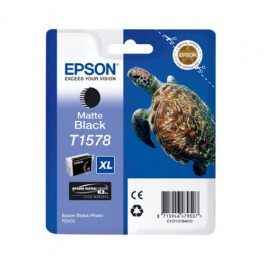 Epson Tinte T1578 Matt Black, 25,9 ml