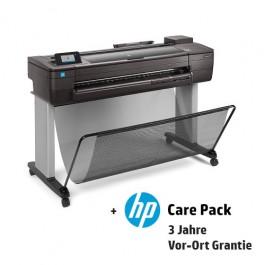 HP Designjet T730 mit 3 Jahren Vor-Ort-Garantie
