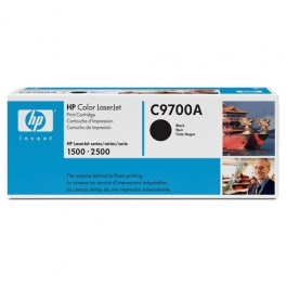 HP Toner C9700A Schwarz für Laserjet 1500 2500, 5k