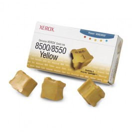 Xerox Solid Ink (3 Sticks) Yellow für Phaser 8500 8550, 3.000 Seiten