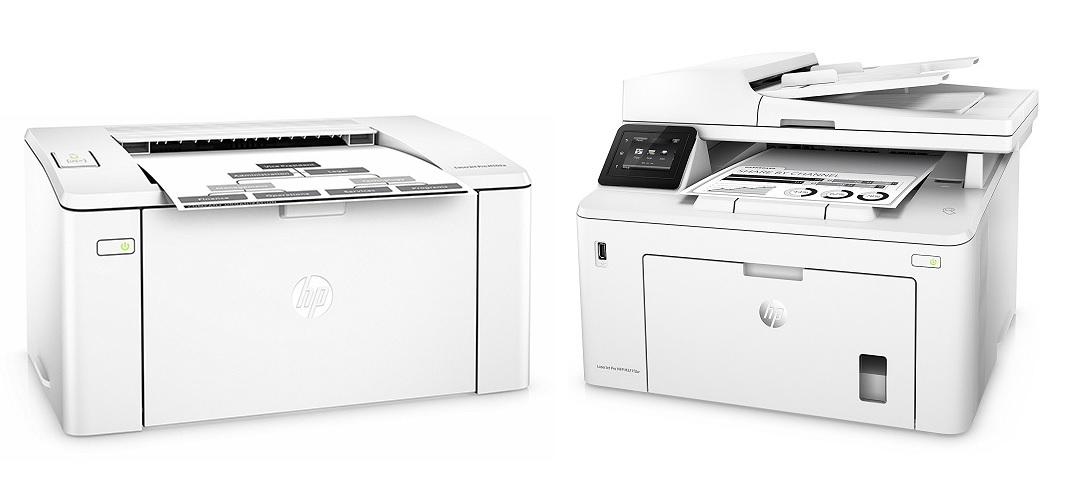 HP LaserJet Pro M102 und M227 MFP