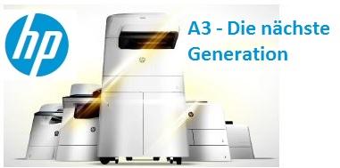 HP PageWide A3-Portfolio - Die nächste Generation