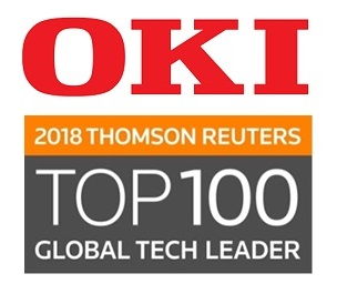 OKI - Thomson Reuters Top 100 Technologie-Unternehmen