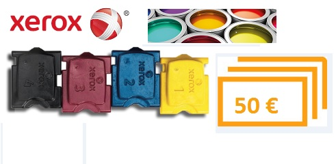 Xerox Solid Ink Cashback-Aktion