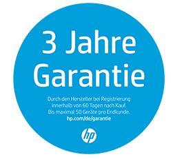 HP kostenlose 3 Jahre Vor-Ort-Garantie