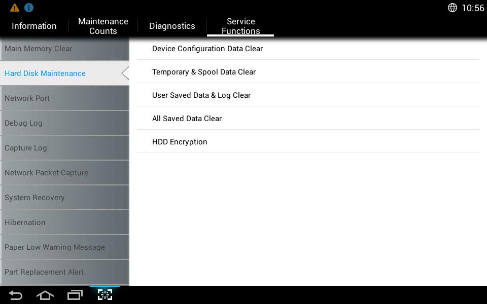 Samsung Screenshot Sicherheitsfunktionen