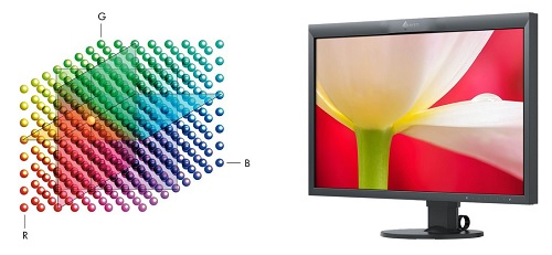 Eizo ColorEdge CG247X Farbwiedergabe