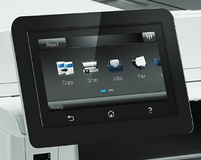 HP Color LaserJet Pro MFP M477 Display