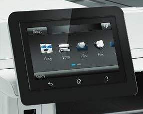 HP Color LaserJet Pro MFP M477 Display