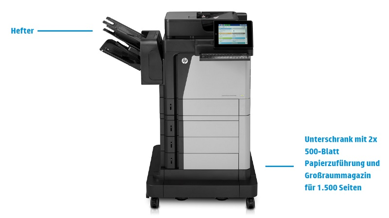 HP LaserJet Enterprise Flow MFP M630z Features