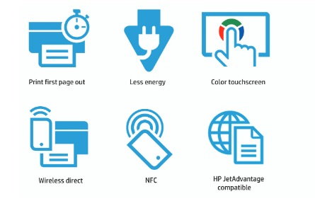 HP Color LaserJet Enterprise M553x Features