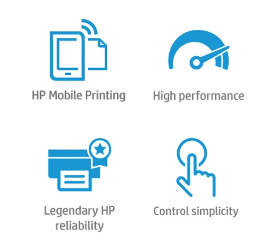 HP OfficeJet 200 Mobildrucker Features