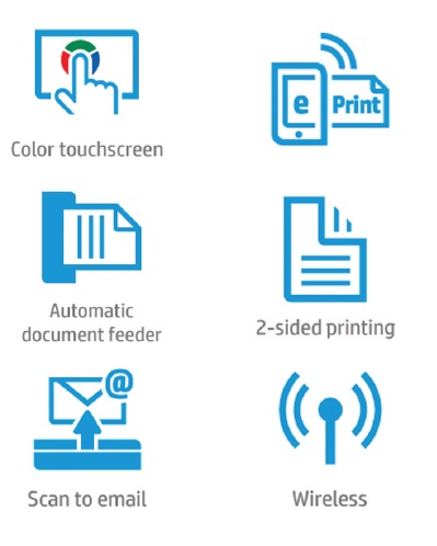 HP OfficeJet Pro 8720 Features