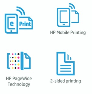 HP PageWide 352dw Features